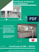 Processo de Esterilização de Materiais Médicos-Hospitalares