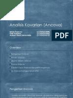 Analisis Kovarian (Ancova)
