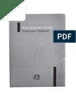 Lyotard, J. F. Economía libidinal..pdf