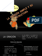 La Oración Simple y Su Estructura