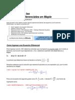 (11)Maple - Ecuaciones Diferenciales I