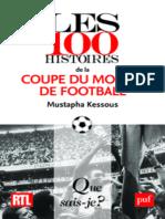 Les 100 histoires de la coupe du monde de football.epub
