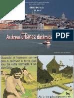 11ºANO Geografia a Módulo 3 Unidade 2 Áreas Urbanas Dinâmicas Internas