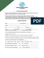 Employment Application&Criminal Background Check