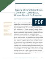 2017 Stopping China Mercantilism