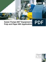 MC pulp Equipment