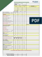 Formato Check List Montacargas