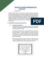Geomorfologia de La Cuenca Hidrografica de Huancane