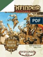 Pathfinder Univers - Guide Du Katapesh