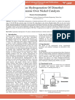 Liquid Phase Hydrogenation of Dimethyl Nitrobenzene Over Nickel Catalysts