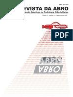 Revista Da ABRO - Associação Brasileira de Radiologia Odontológica