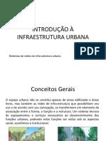 Introdução a Infraestrutura Urbana