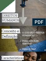 Palestra Direitos Humanos