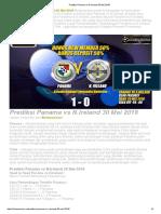 Prediksi Skor Panama vs N.ireland 30 Mei 2018