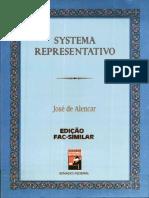Alencar, J. 1997. Systema representativo. Senado Federal. pdf.pdf