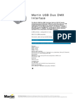 Martin USB Duo DMX Interface