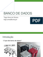 Aula 01 - Introdução Aos Banco de Dados