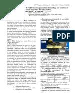 Soudage Papier Simulation