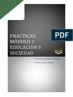 Practicas Modulo 1 Educacion y Sociedad