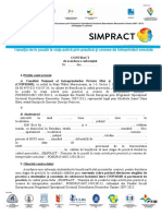 Contract Subventii Practica