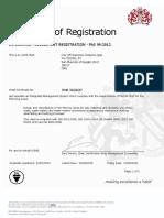Certificado Cimberio 2016