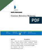 Customer Retention Marketing - Modul