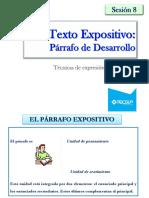 08.Texto Expositivo Desarrollo 1