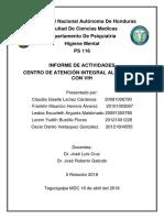 Informe Grupo C.a.I, II Pasantia 2018