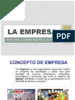 Sesión 01 Concepto de Empresa