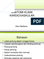 Anatomi klinik kardiovaskular