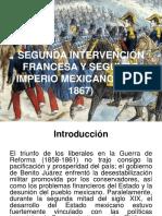 t4, Segunda Intervención Francesa y Segundo Imperio Mexicano (1862-1867)