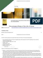 Chronological Study of the Life of Christ _ Xenos Christian Fellowship