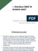 Sistem Distribusi Obat Di Rumah Sakit Revisi 2017