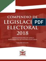 Compendio de Legislación Electoral 2018 JNE