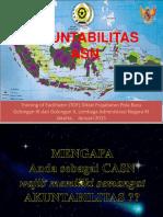 Bahan Tayang Materi Akuntabilitas PNS 2015