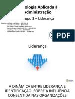 Psicologia Aplicada à Administração - Grupo 3 - Liderança-V2