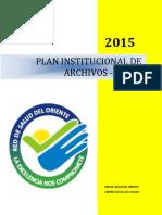 Plan Institucional de Archivos