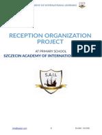 SAIL Reception Organisation Project
