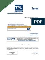Tarea UTPL Metodología de Estudio
