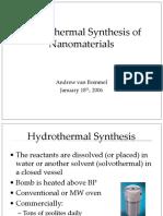 Synthesis of Barium Titanate