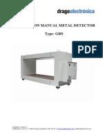 Manual Ingles Metal Detector