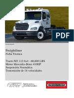 Ficha Técnica M2 112 6X4 60N MBE410 F7B-889 , A5K-838, C6W-710