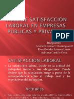Exposicion de Satifaccion Laboral
