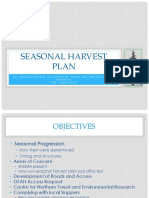 Seasonal Harvest Plan