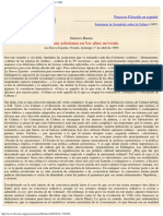 1990 - Gustavo Bueno - Cultura Asturiana en Los Años Noventa 1990