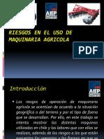4.- Riesgos en El Uso de Maquinaria Agricola Power