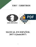 MANUAL EN ESPAÑOL PARA ARBITROS 2017 Feda v1