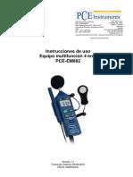 Manual Pce Em 882