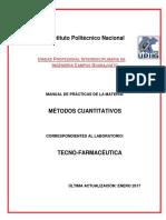 Manual de Metodos Cuantitativos 2017