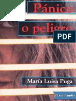 Panico o Peligro Maria Luisa Puga